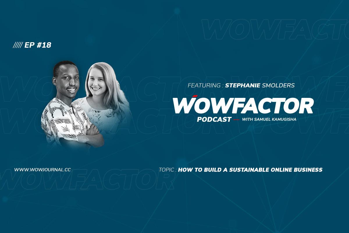 Stephanie Smolders - WowFactor Podcast - Feature